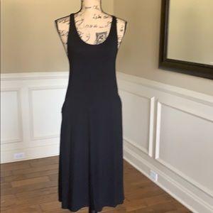 Eileen Fisher Sleeveless Jersey Maxi Dress NWOT